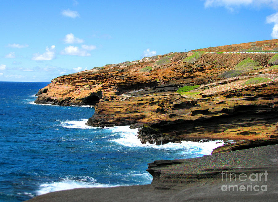 Lanai Lookout Photograph  - Lanai Lookout Fine Art Print