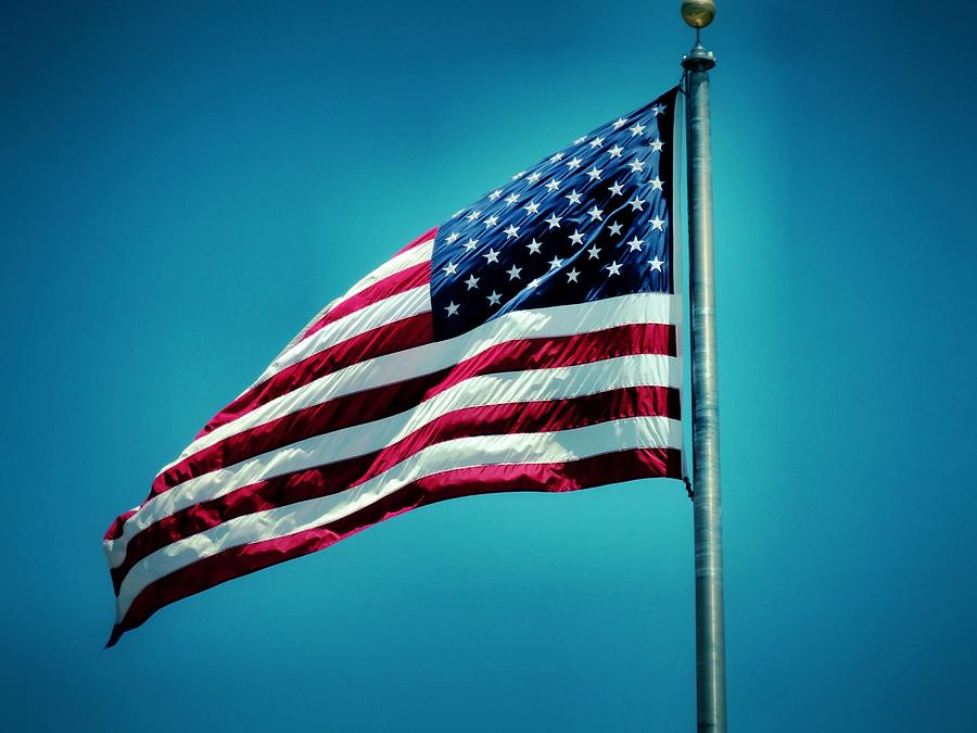 Flag Photograph Photograph - Land Of The Free by Dan Sproul