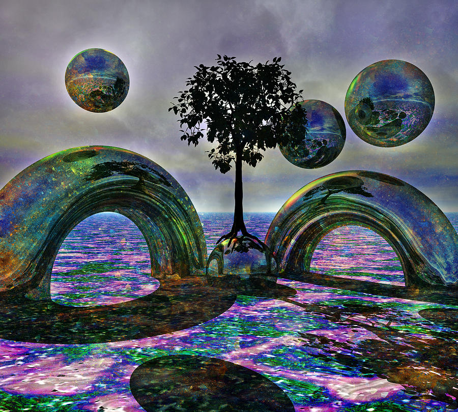 Land Of World 8624030 Digital Art  - Land Of World 8624030 Fine Art Print