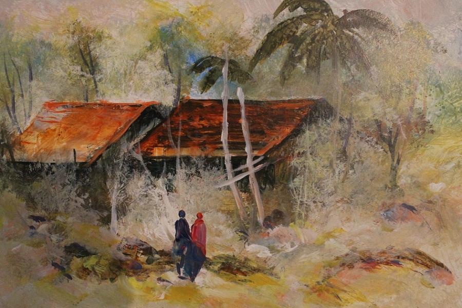 Landscape 458 Painting