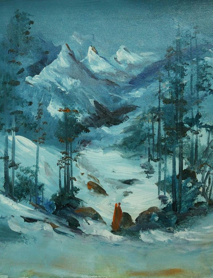 Paintings Painting - Landscape 786 by Sir