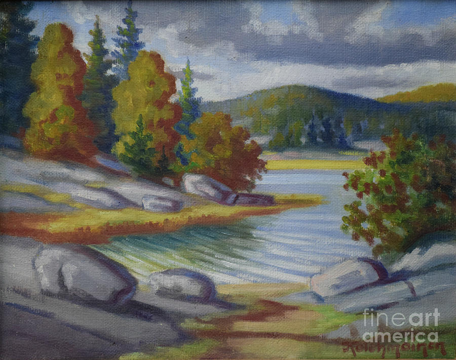 Landscape From Finland Painting