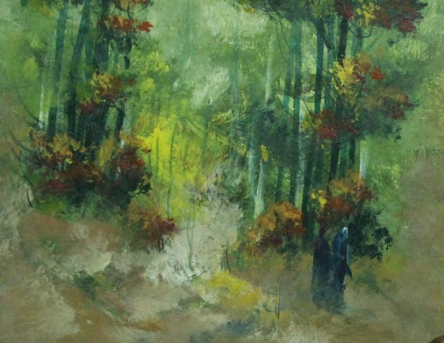 Paintings Painting - Landscape Painting 9686 by Sir