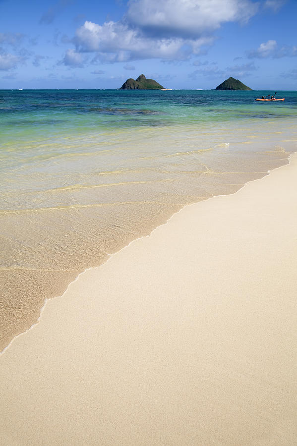 Lanikai And Mokulua Islands Photograph  - Lanikai And Mokulua Islands Fine Art Print