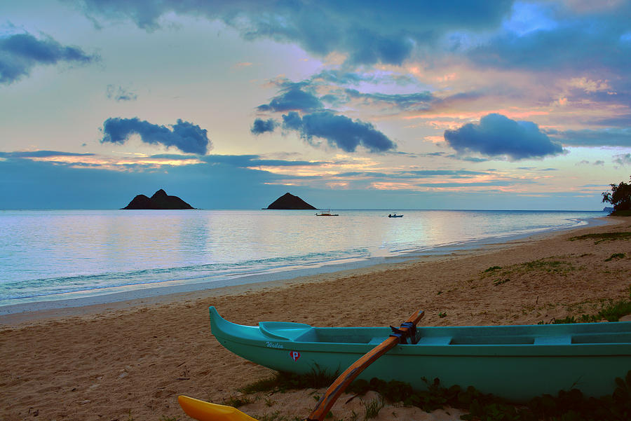 Lanikai Beach Sunrise 6 - Kailua Oahu Hawaii Photograph  - Lanikai Beach Sunrise 6 - Kailua Oahu Hawaii Fine Art Print