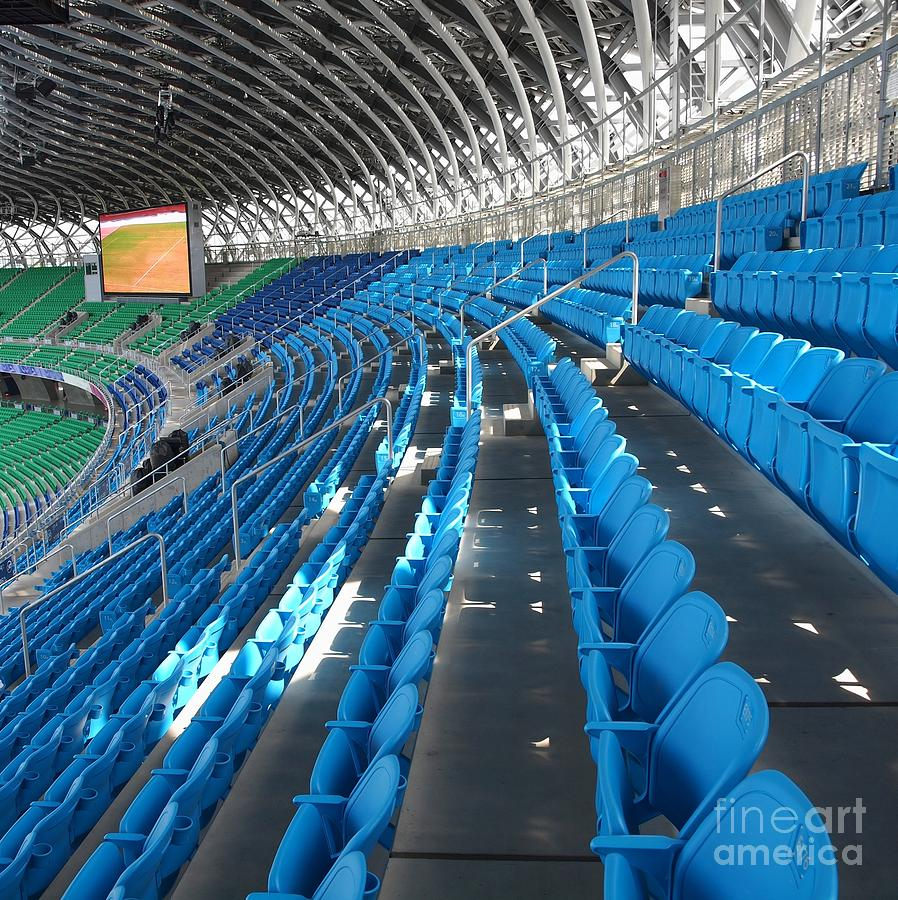 Large Modern Sports Facility Photograph