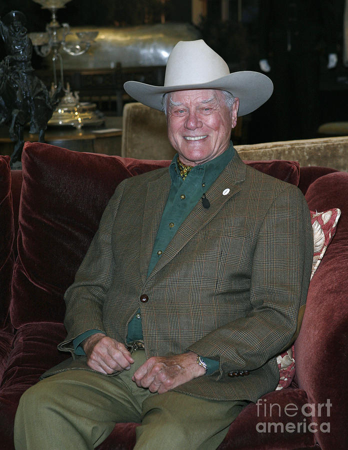 Larry Hagman Photograph