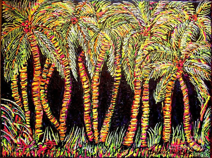 Las palmas painting by darlyne sax - Tv chat las palmas ...