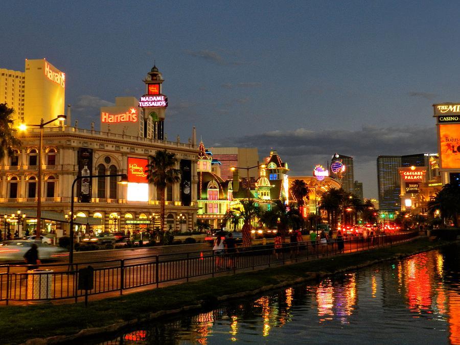 Las Vegas Strip Photograph - Las Vegas 36 by Lance Vaughn