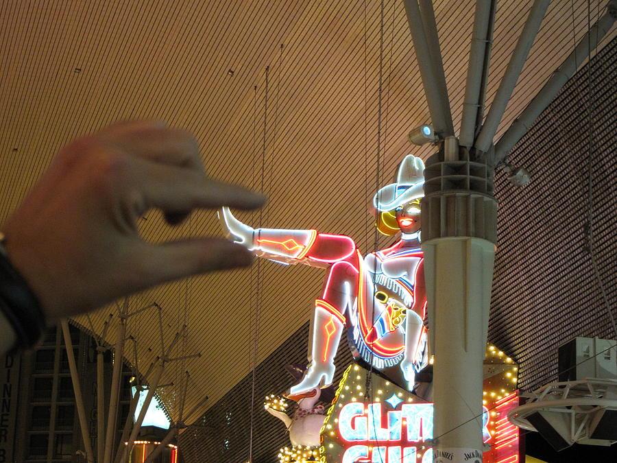 Las Photograph - Las Vegas - Fremont Street Experience - 12129 by DC Photographer