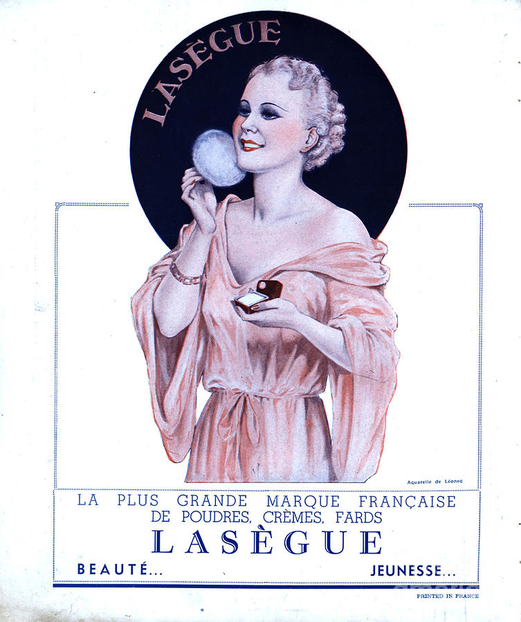 Laseguela Vie Parisienne 1930s France Drawing