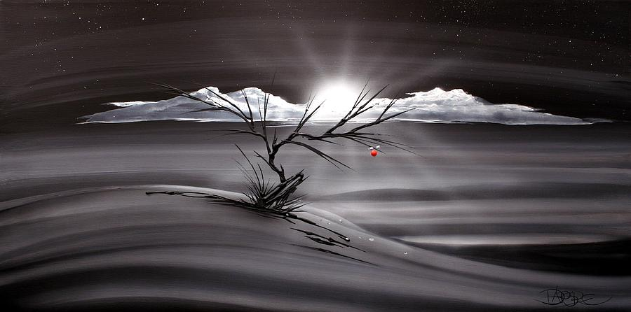 Landscape Painting - Last Apple 53 by T Dapore