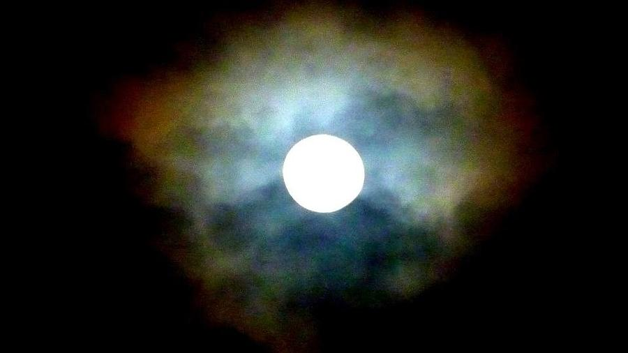 Last Full Cold Moon December 2012 Photograph