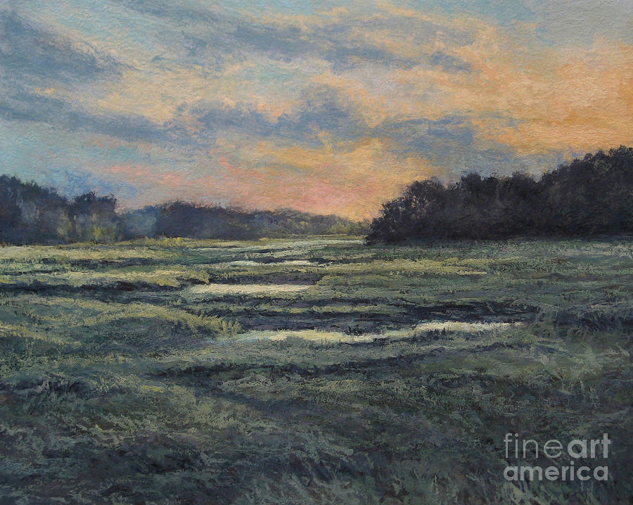 Last Light On The Marsh - Wellfleet Painting