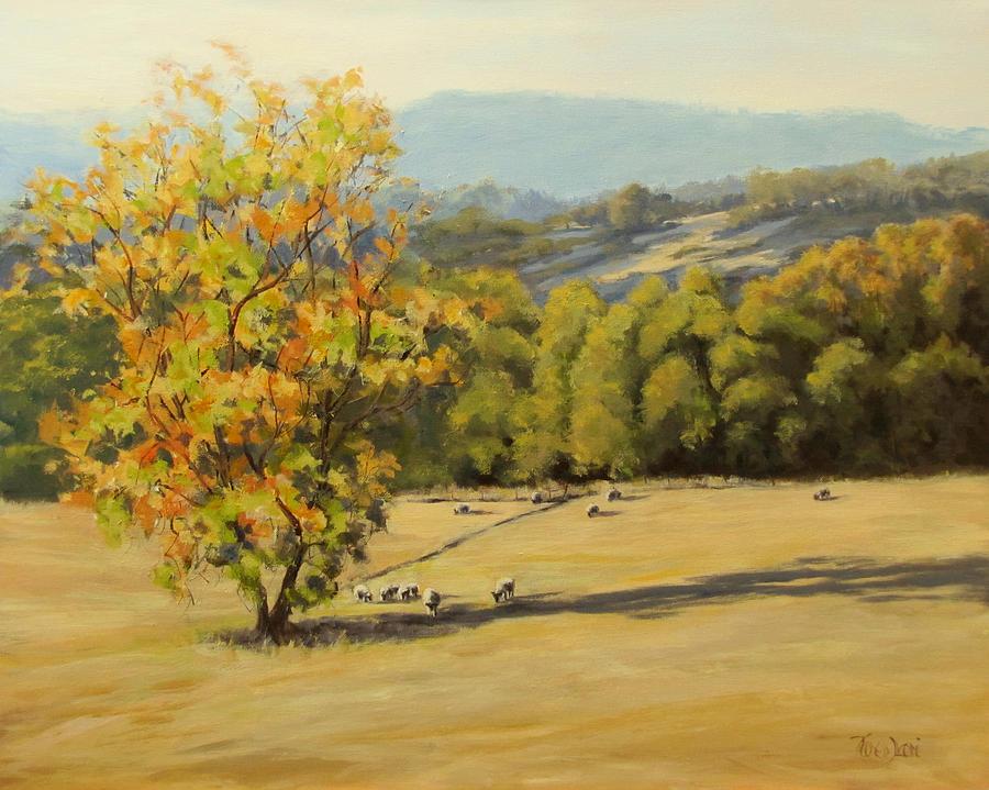 Last Rays Painting