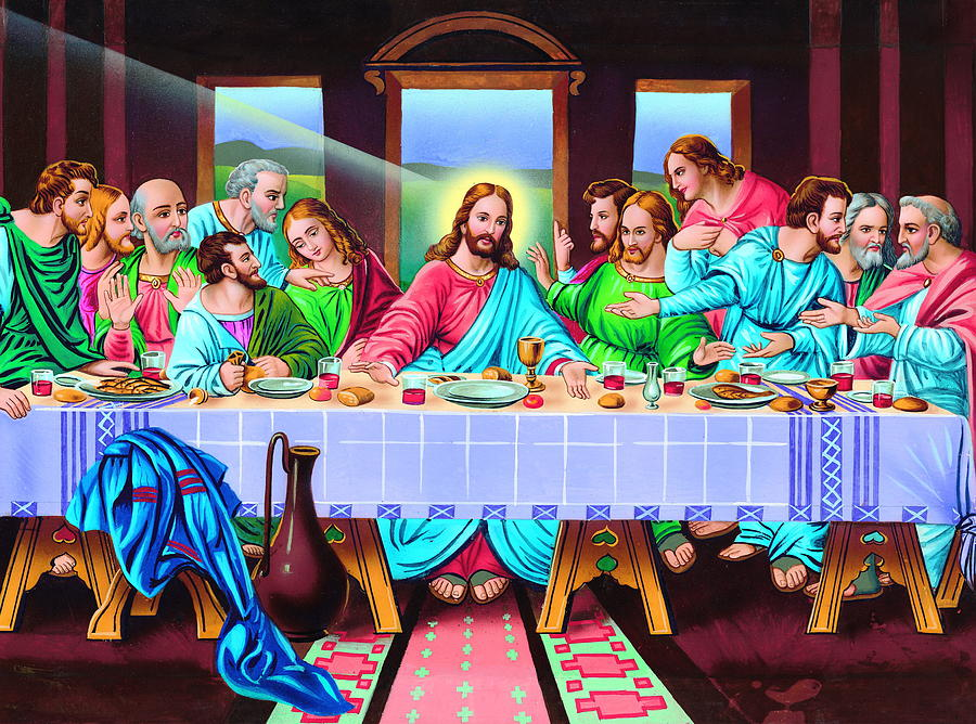 Acrylic Paintings Of Last Supper