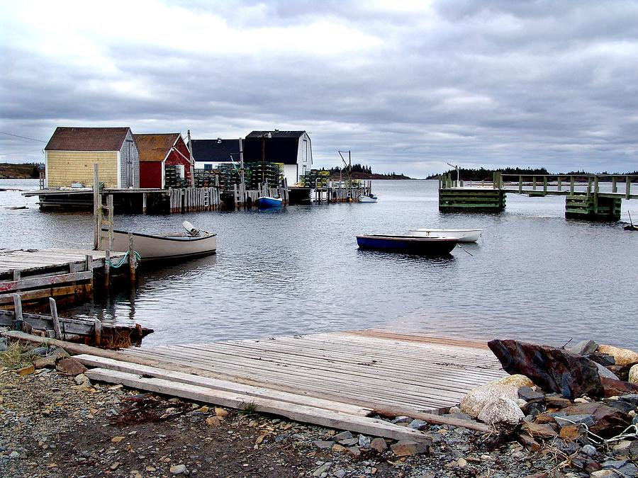 Late October In Blue Rocks Photograph