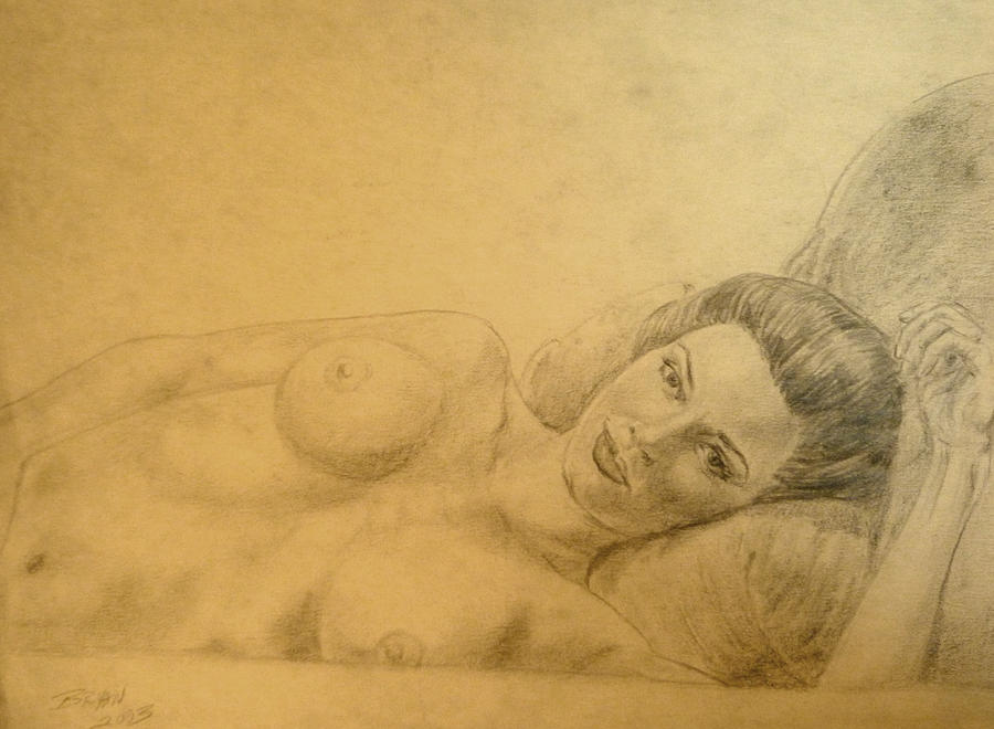Laura Harring Drawing