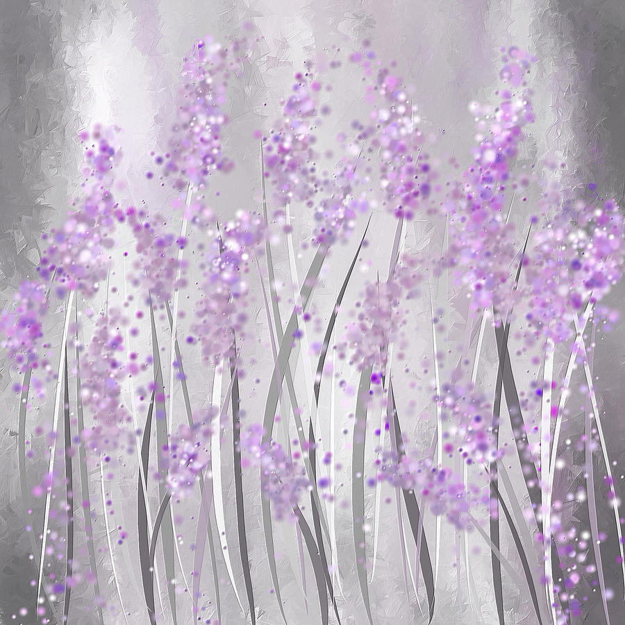 lavender painting - photo #15