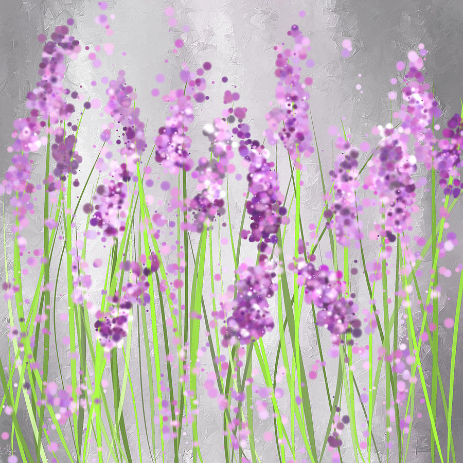 lavender painting - photo #3