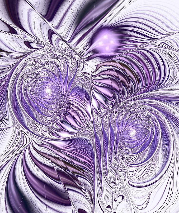 Lavender Elegance Digital Art
