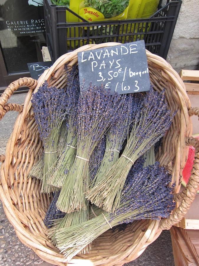 Lavender For Sale Photograph