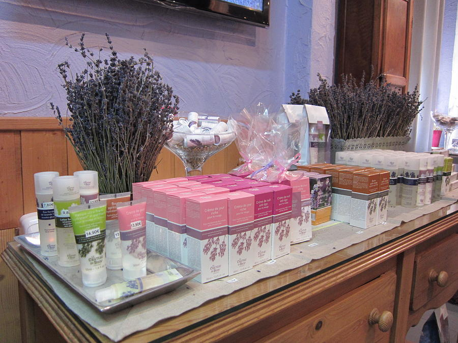 Lavender Museum Shop 2 Photograph