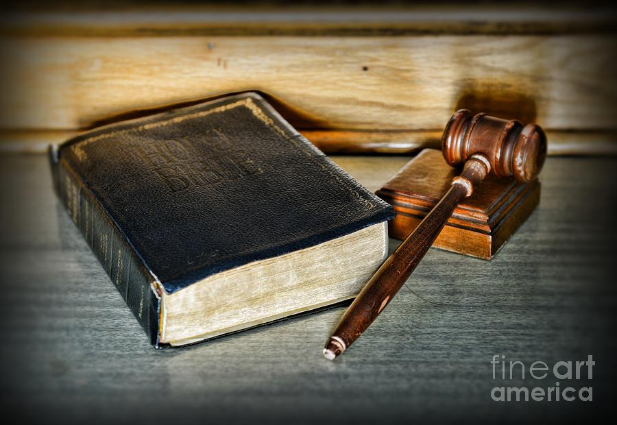 Lawyer - Truth And Justice Photograph  - Lawyer - Truth And Justice Fine Art Print