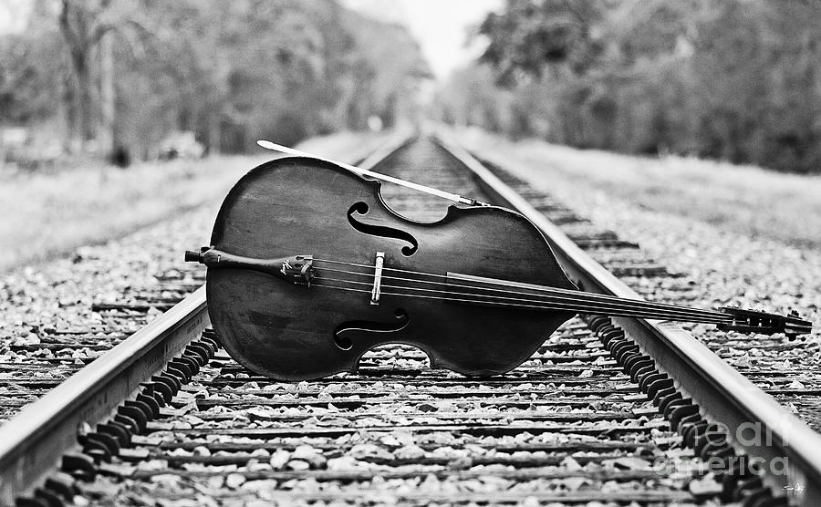 Laying Down Some Tracks Photograph