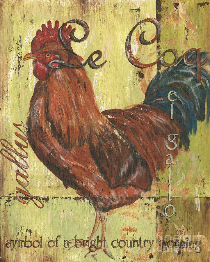 Le Coq Painting
