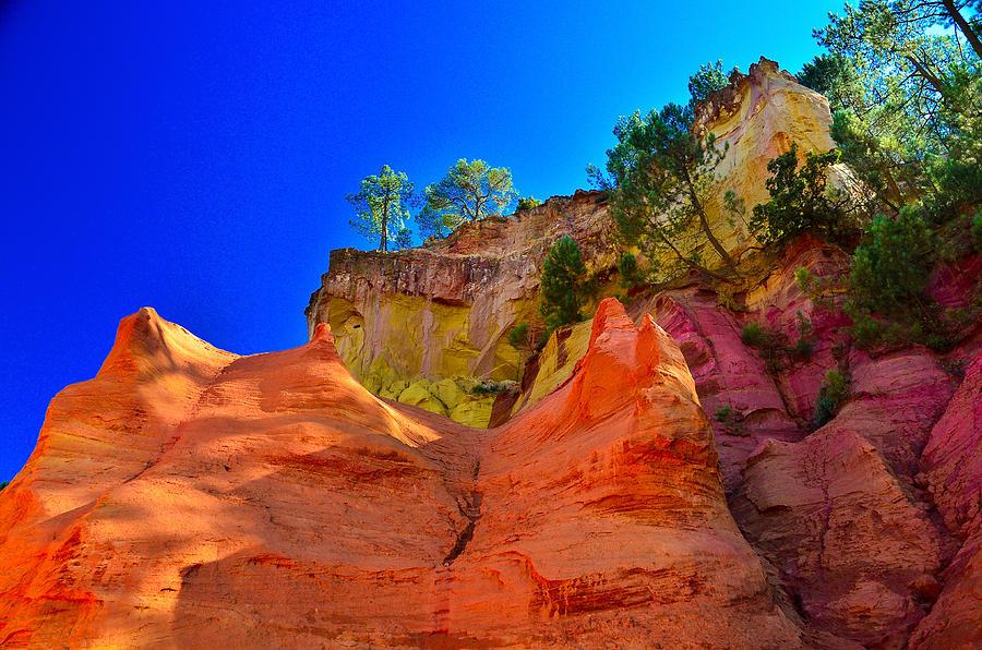 Le Sentier Des Ocres Roussillon France Photograph