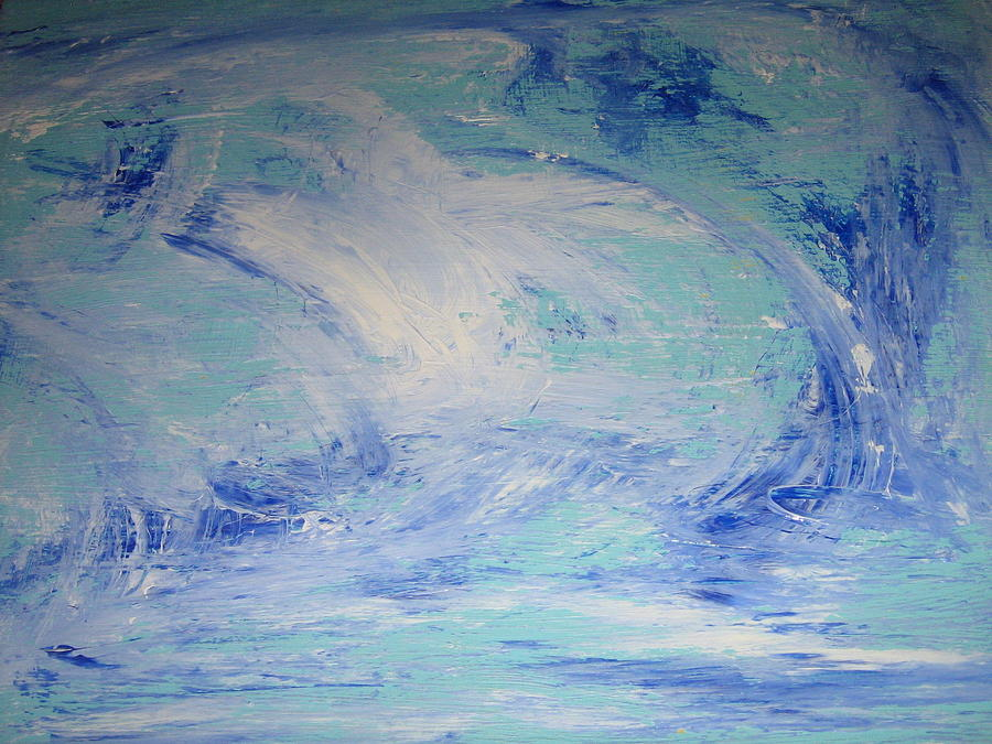 Le Vent Du Nord Or Northern Wind Painting