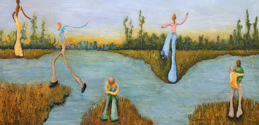 Leap Of Faith Painting