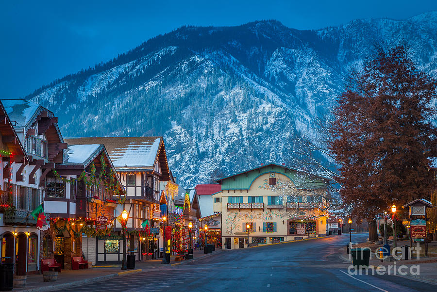 Leavenworth Alpine View Photograph  - Leavenworth Alpine View Fine Art Print