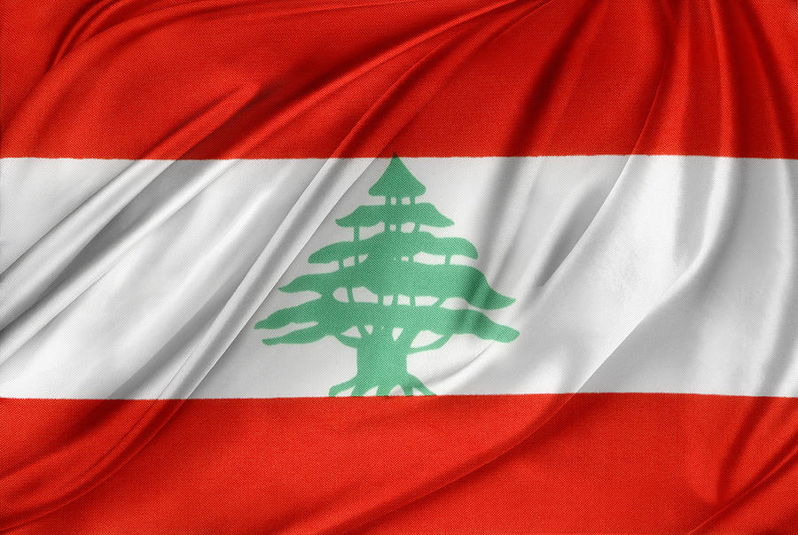 Lebanese Flag Photograph