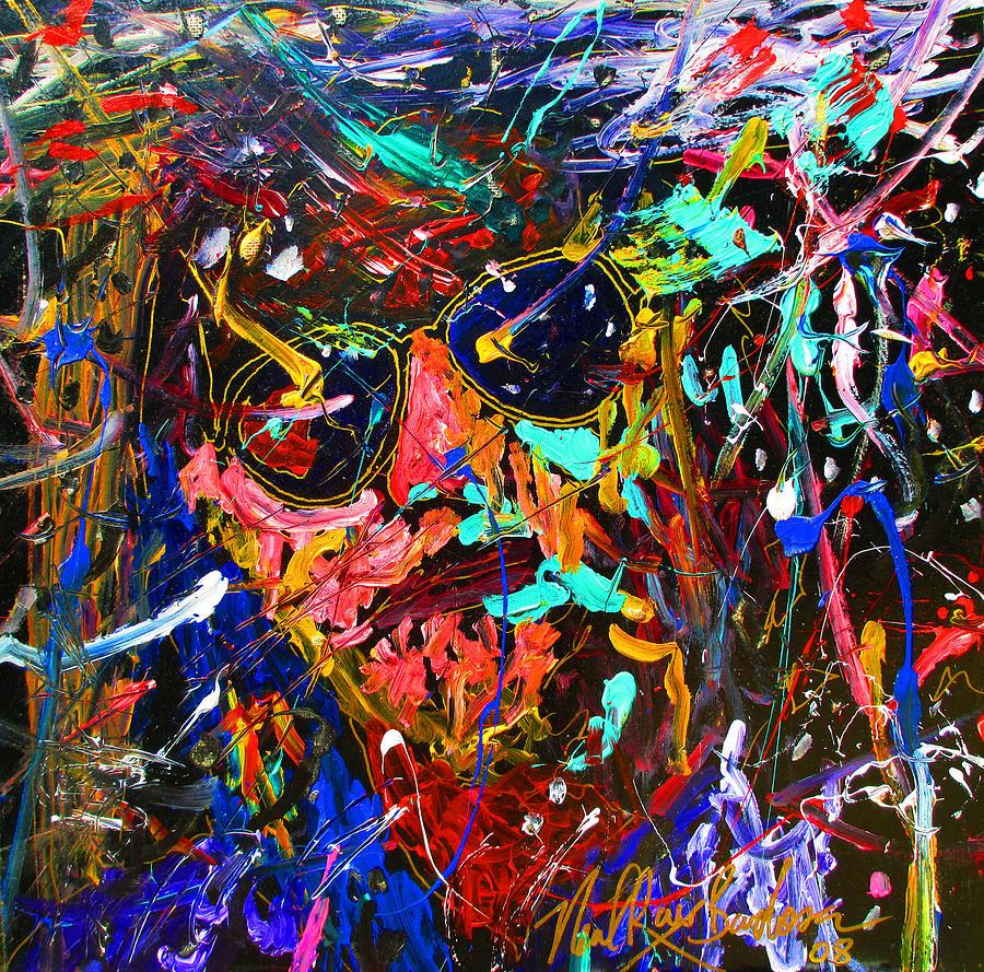 The Big Lebowski Painting - Lebowski Love by Neal Barbosa