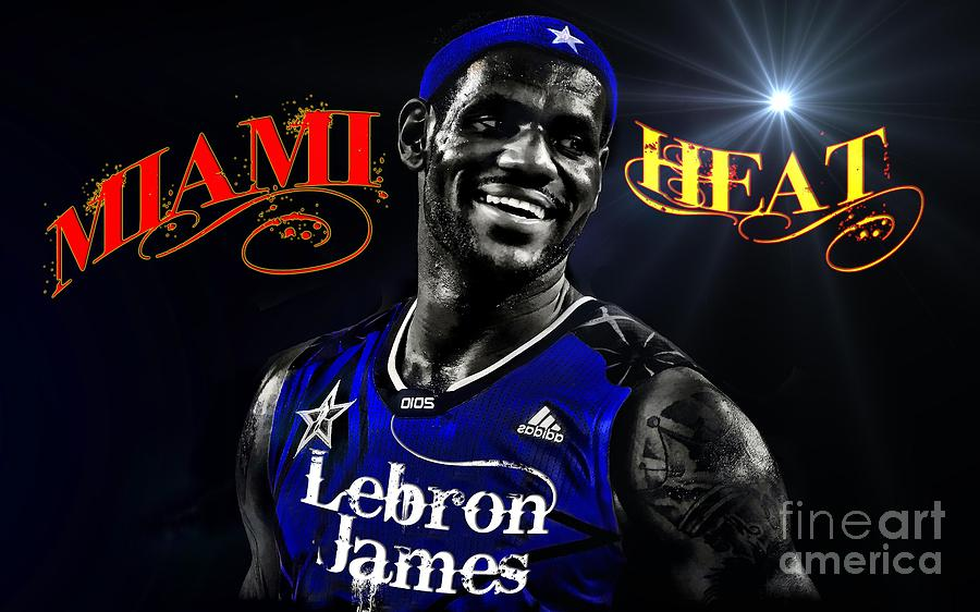 Lebron James Photograph  - Lebron James Fine Art Print