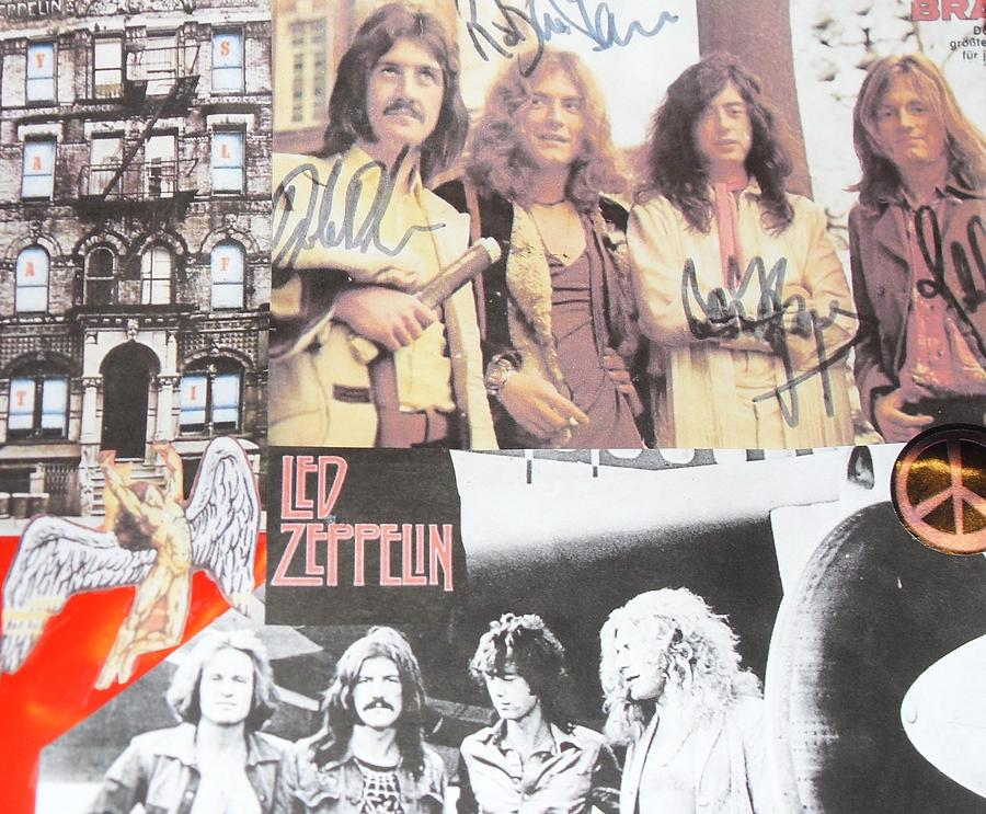 Led Zeppelin Photograph