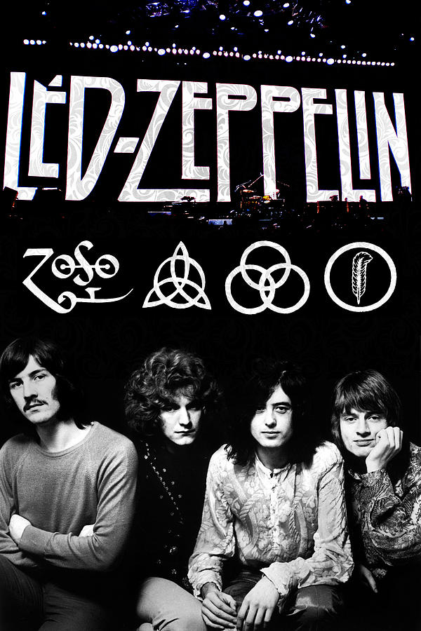Led Zeppelin Digital Art