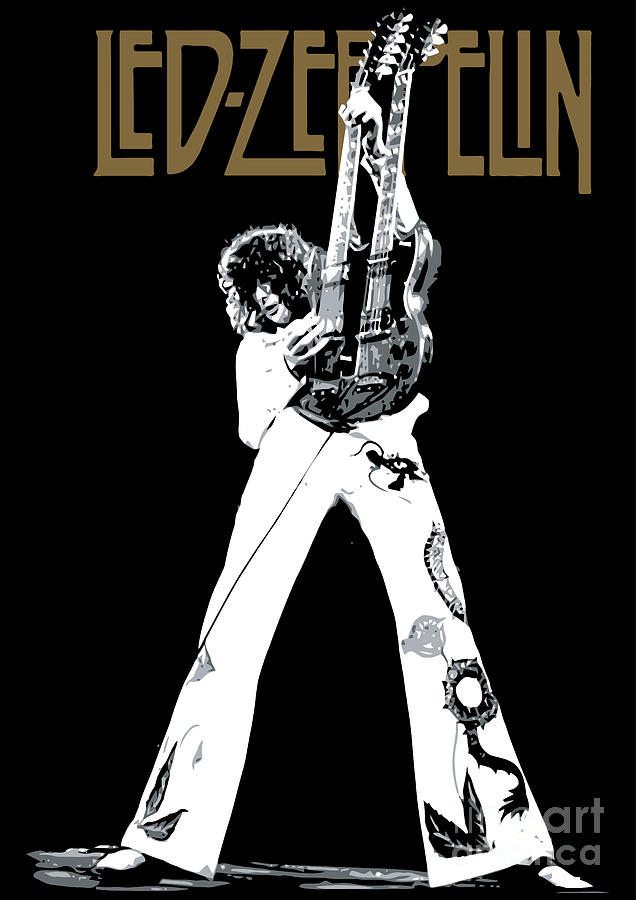 Led Zeppelin No.06 Digital Art
