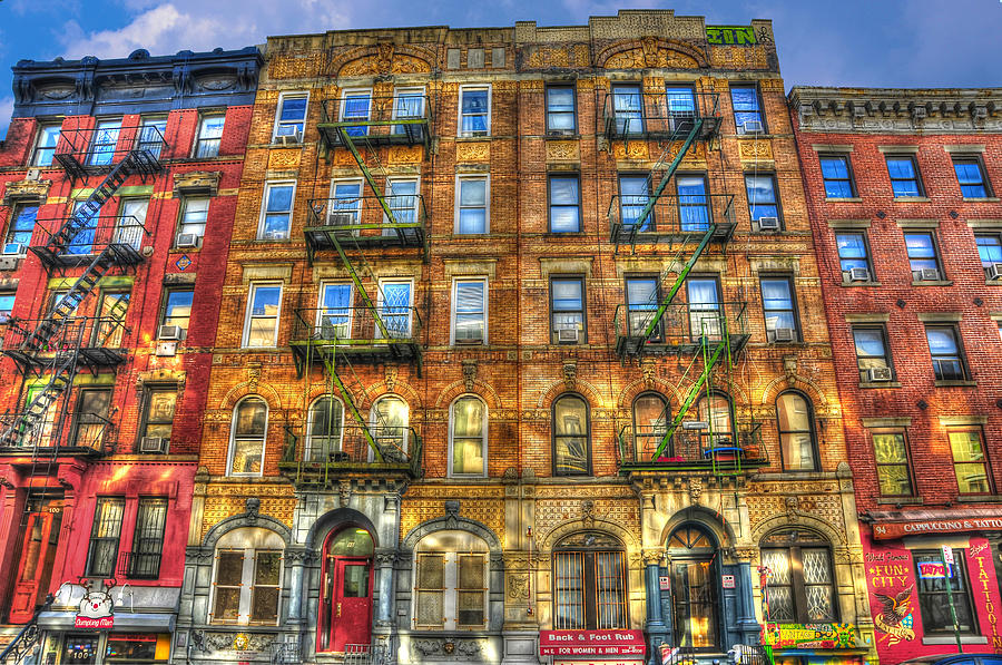 Led Zeppelin Physical Graffiti Building In Color Photograph