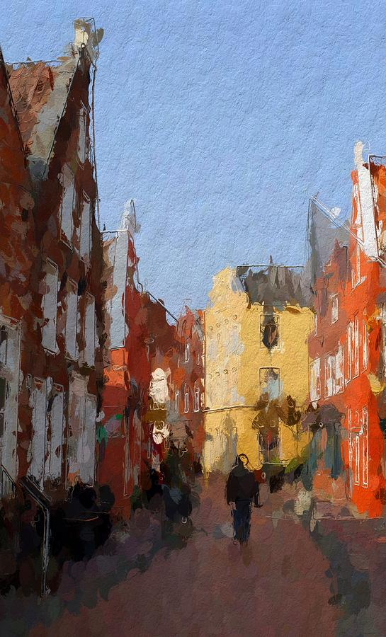 Leer Altstadtimpressionen Painting