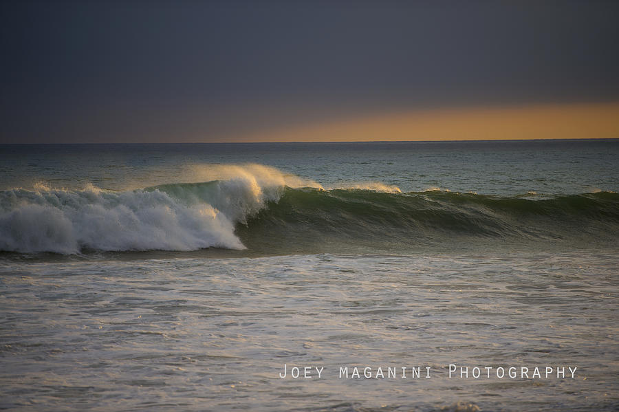 Surfing Photograph - Left by Joey  Maganini