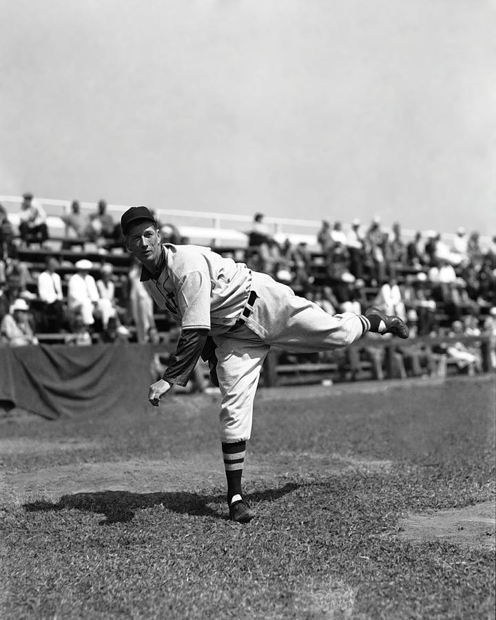 Retro Images Archive Photograph - Lefty Grove Working Out Before Game by Retro Images Archive