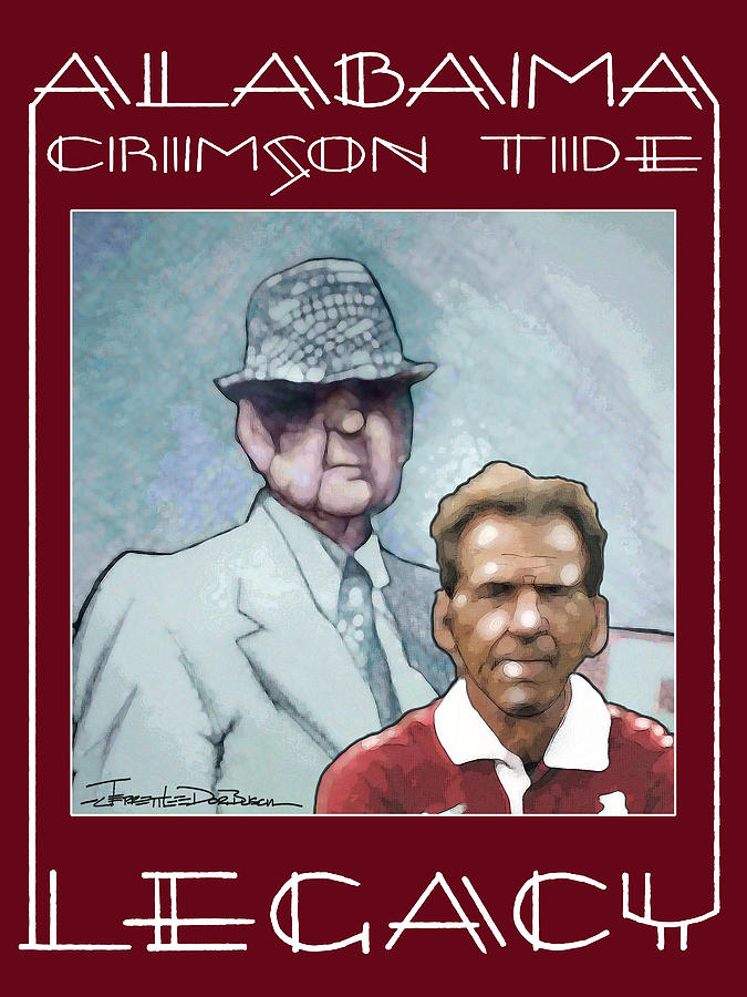 Bear Bryant Painting - Legacy - Bear by Jerrett Dornbusch