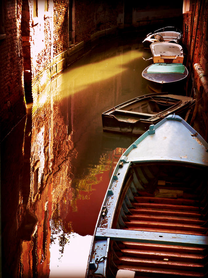 Legata Nel Canale Photograph by Micki Findlay