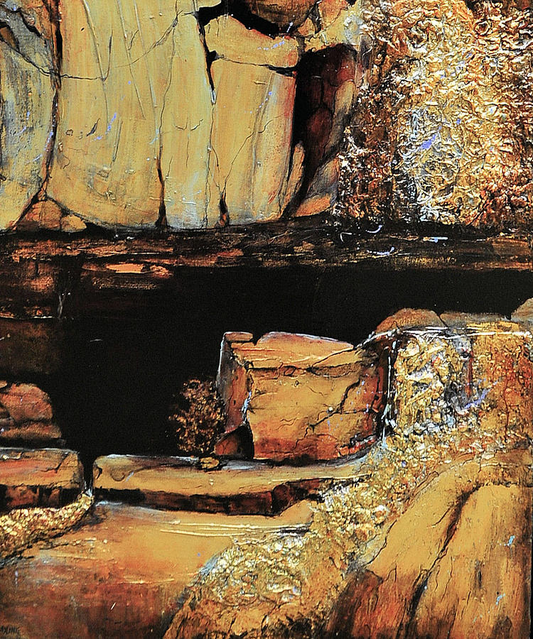 Legendary Lost Dutchman Mine Painting  - Legendary Lost Dutchman Mine Fine Art Print