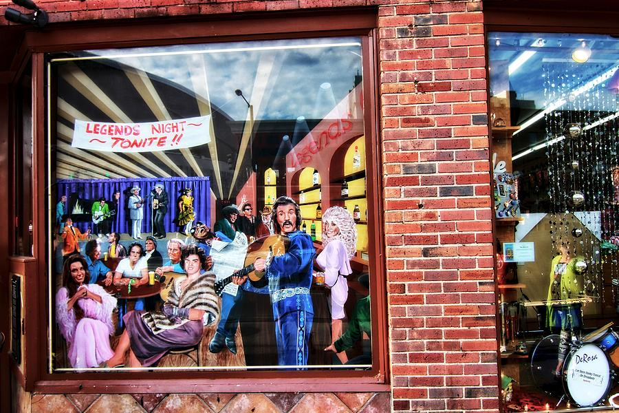 Legends Bar In Downtown Nashville Photograph - Legends Bar In Downtown Nashville by Dan Sproul