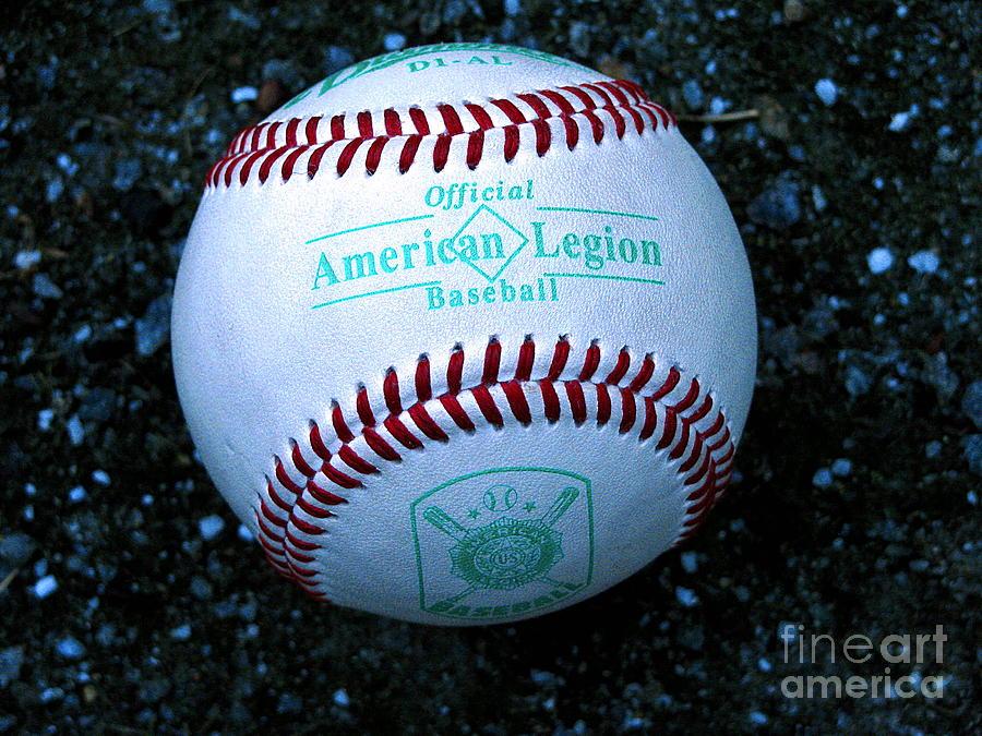 Baseball Photograph - Legion Baseball by Colleen Kammerer