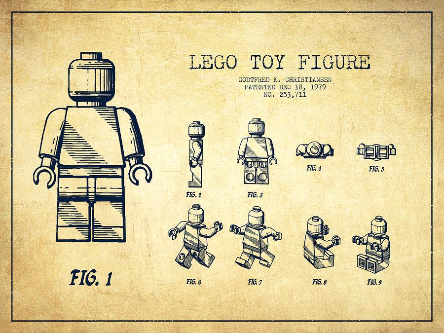 Popular lego patent